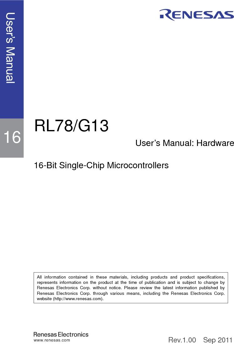 R5F100FGAFP#V0 ,Renesas Electronics America厂商,MCU 16BIT 128KB FLASH 44LQFP, R5F100FGAFP#V0 datasheet预览  第1页
