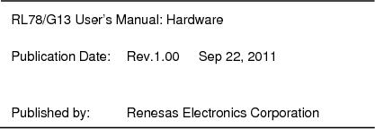 R5F100FGAFP#V0 ,Renesas Electronics America厂商,MCU 16BIT 128KB FLASH 44LQFP, R5F100FGAFP#V0 datasheet预览  第1090页