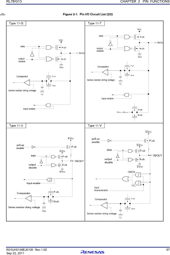 R5F100FGAFP#V0 ,Renesas Electronics America厂商,MCU 16BIT 128KB FLASH 44LQFP, R5F100FGAFP#V0 datasheet预览  第116页