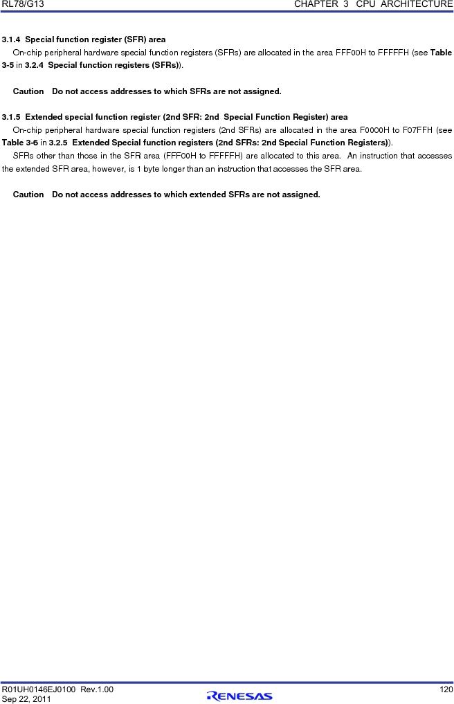 R5F100FCAFP#V0 ,Renesas Electronics America厂商,MCU 16BIT 32KB FLASH 44LQFP, R5F100FCAFP#V0 datasheet预览  第139页
