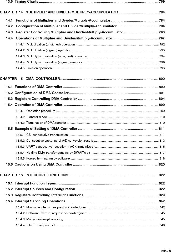 R5F100FCAFP#V0 ,Renesas Electronics America厂商,MCU 16BIT 32KB FLASH 44LQFP, R5F100FCAFP#V0 datasheet预览  第15页