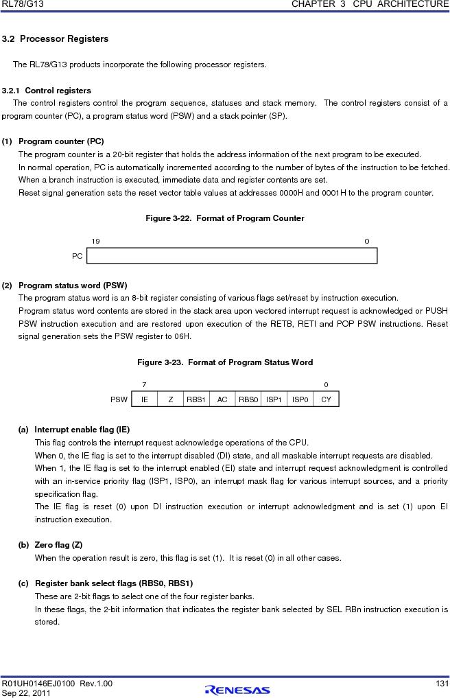 R5F100FCAFP#V0 ,Renesas Electronics America厂商,MCU 16BIT 32KB FLASH 44LQFP, R5F100FCAFP#V0 datasheet预览  第150页