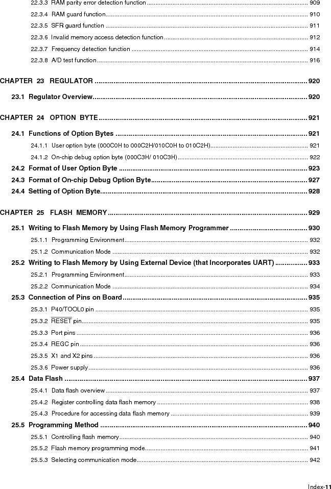 R5F100FCAFP#V0 ,Renesas Electronics America厂商,MCU 16BIT 32KB FLASH 44LQFP, R5F100FCAFP#V0 datasheet预览  第17页