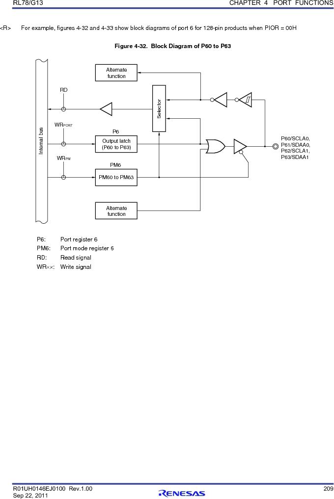 R5F100FCAFP#V0 ,Renesas Electronics America厂商,MCU 16BIT 32KB FLASH 44LQFP, R5F100FCAFP#V0 datasheet预览  第228页