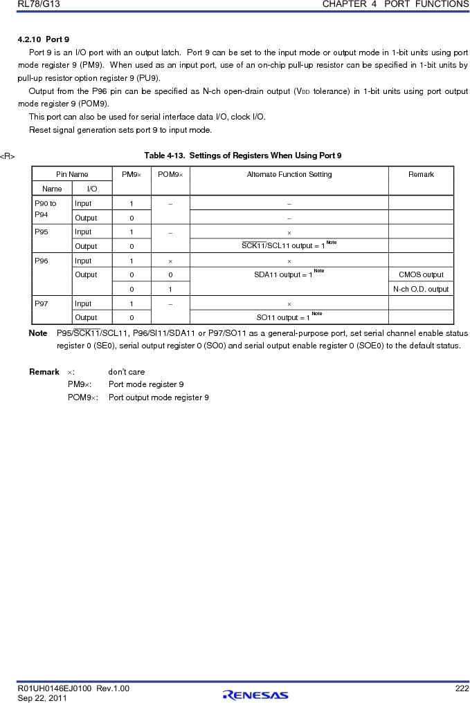 R5F100FCAFP#V0 ,Renesas Electronics America厂商,MCU 16BIT 32KB FLASH 44LQFP, R5F100FCAFP#V0 datasheet预览  第241页