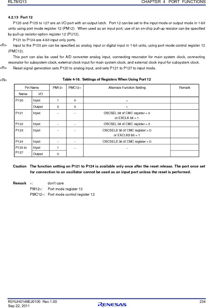 R5F100FCAFP#V0 ,Renesas Electronics America厂商,MCU 16BIT 32KB FLASH 44LQFP, R5F100FCAFP#V0 datasheet预览  第253页