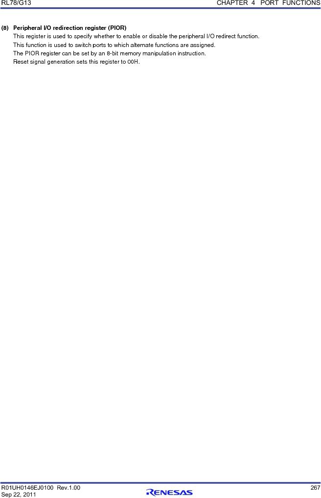 R5F100FCAFP#V0 ,Renesas Electronics America厂商,MCU 16BIT 32KB FLASH 44LQFP, R5F100FCAFP#V0 datasheet预览  第286页