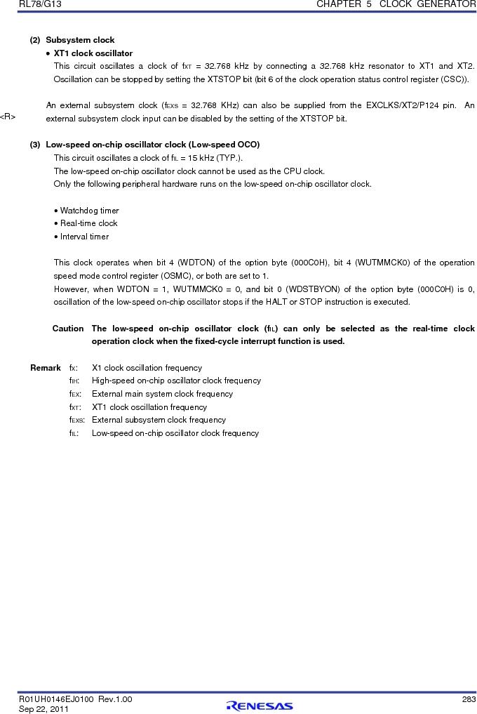R5F100FCAFP#V0 ,Renesas Electronics America厂商,MCU 16BIT 32KB FLASH 44LQFP, R5F100FCAFP#V0 datasheet预览  第302页