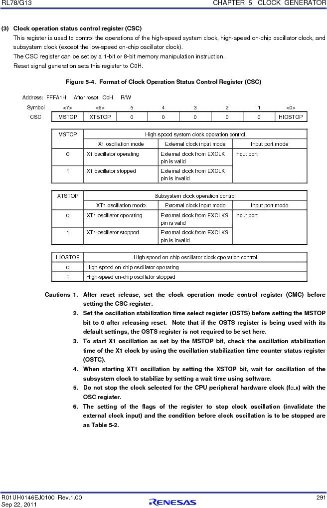 R5F100FCAFP#V0 ,Renesas Electronics America厂商,MCU 16BIT 32KB FLASH 44LQFP, R5F100FCAFP#V0 datasheet预览  第310页