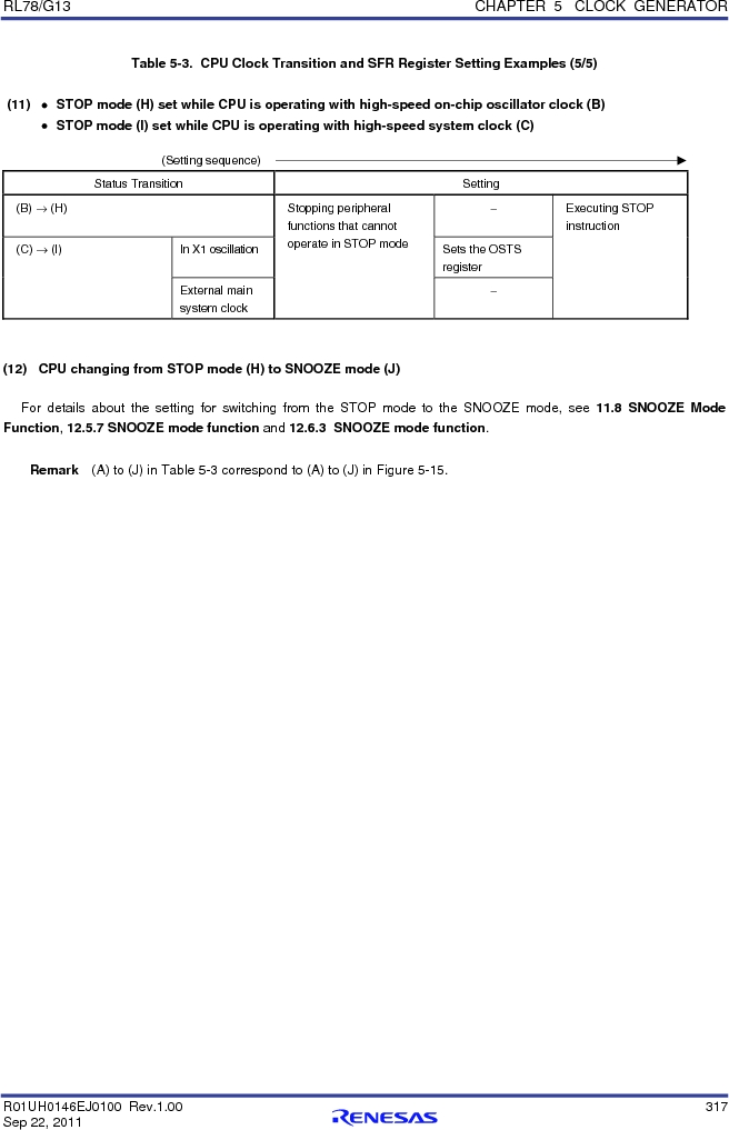 R5F100FCAFP#V0 ,Renesas Electronics America厂商,MCU 16BIT 32KB FLASH 44LQFP, R5F100FCAFP#V0 datasheet预览  第336页