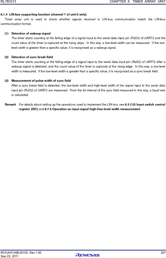 R5F100FCAFP#V0 ,Renesas Electronics America厂商,MCU 16BIT 32KB FLASH 44LQFP, R5F100FCAFP#V0 datasheet预览  第346页