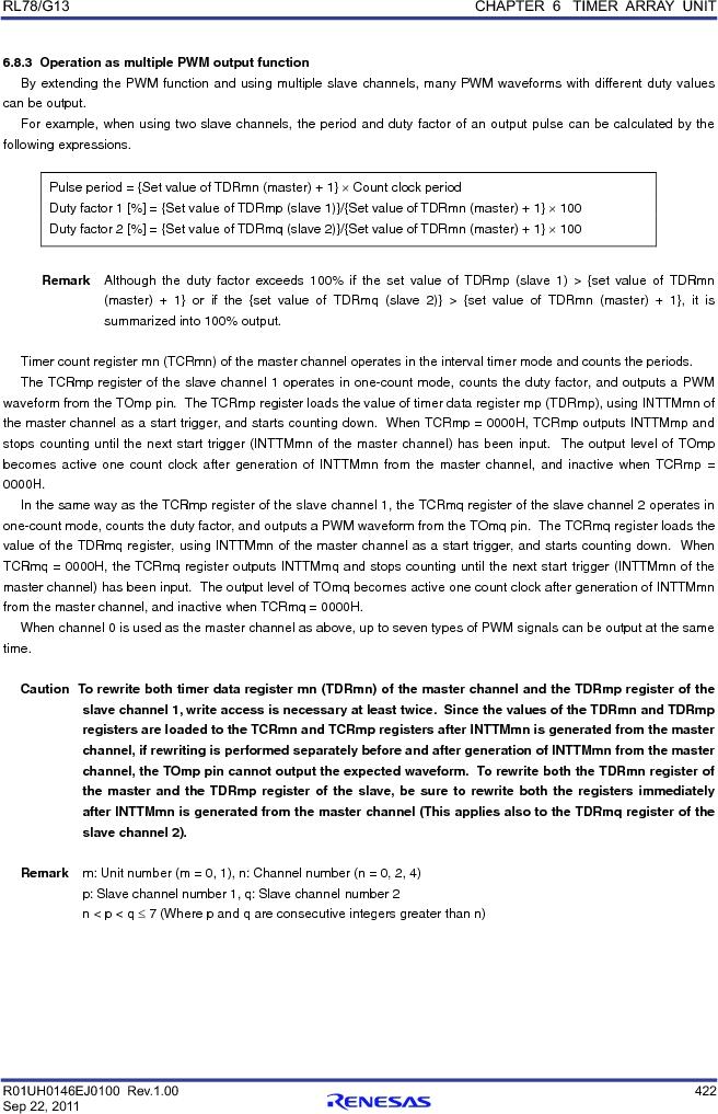 R5F100FCAFP#V0 ,Renesas Electronics America厂商,MCU 16BIT 32KB FLASH 44LQFP, R5F100FCAFP#V0 datasheet预览  第441页