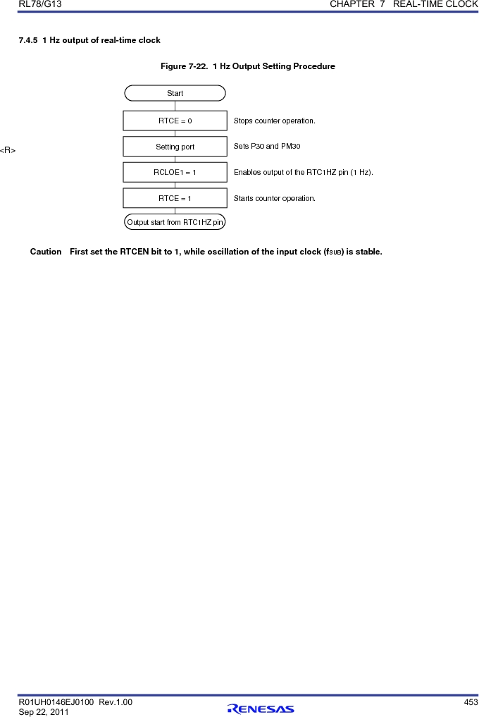 R5F100FCAFP#V0 ,Renesas Electronics America厂商,MCU 16BIT 32KB FLASH 44LQFP, R5F100FCAFP#V0 datasheet预览  第472页