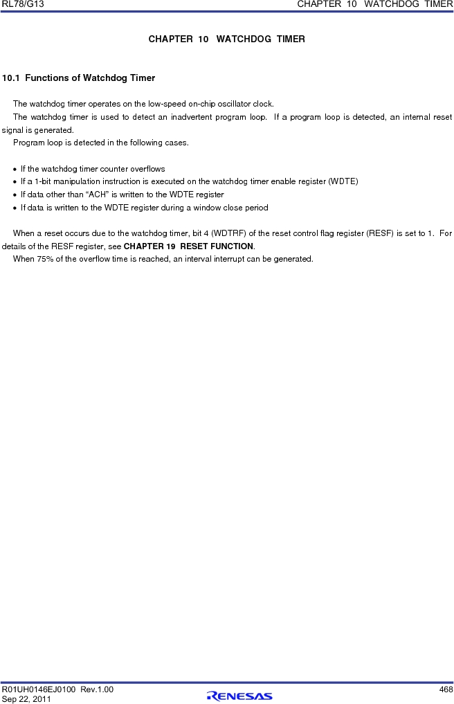 R5F100FCAFP#V0 ,Renesas Electronics America厂商,MCU 16BIT 32KB FLASH 44LQFP, R5F100FCAFP#V0 datasheet预览  第487页
