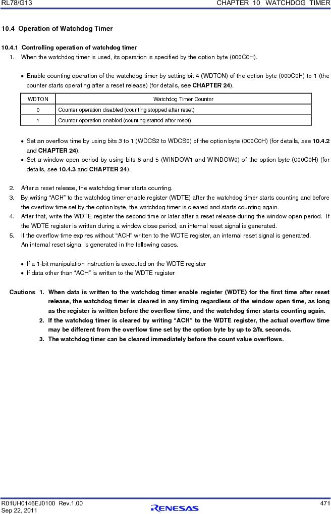 R5F100FCAFP#V0 ,Renesas Electronics America厂商,MCU 16BIT 32KB FLASH 44LQFP, R5F100FCAFP#V0 datasheet预览  第490页