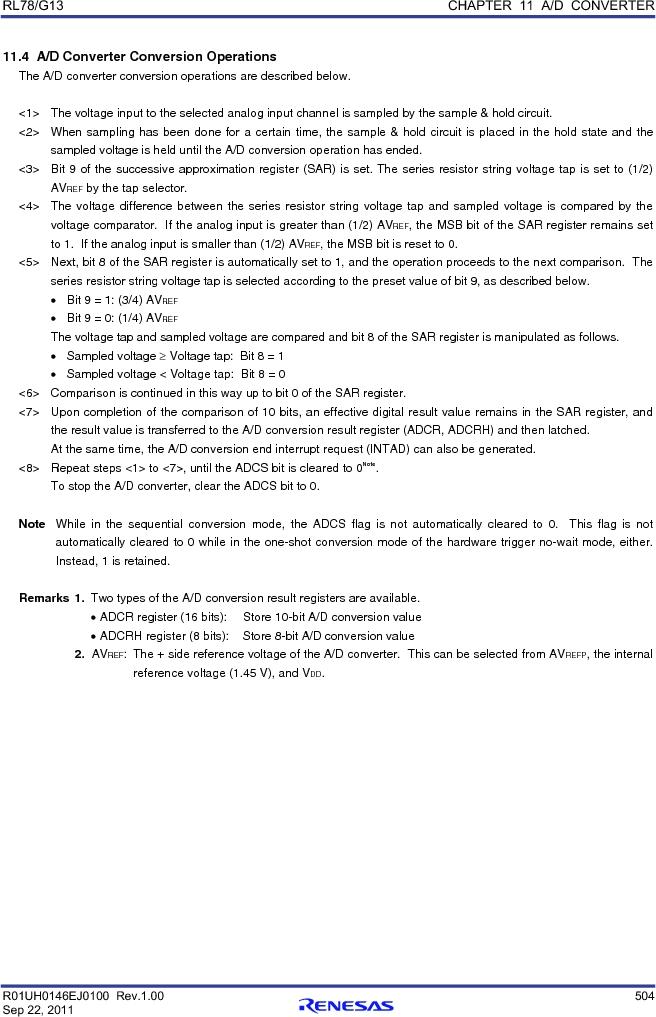 R5F100FGAFP#V0 ,Renesas Electronics America厂商,MCU 16BIT 128KB FLASH 44LQFP, R5F100FGAFP#V0 datasheet预览  第523页
