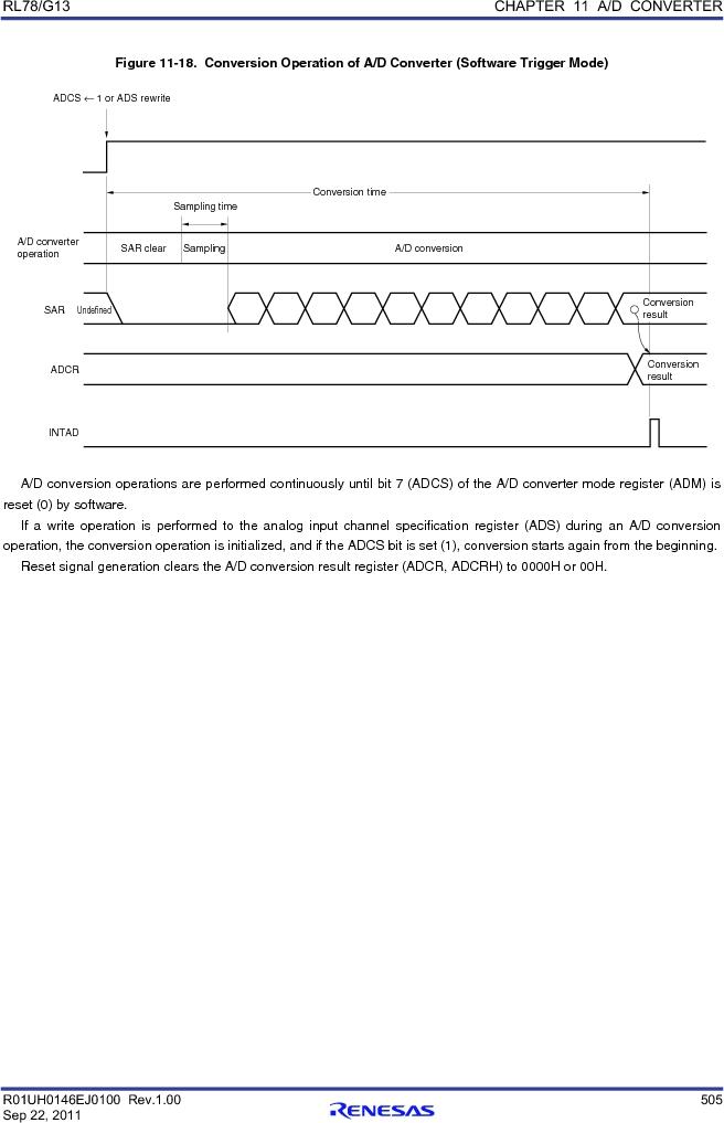 R5F100FCAFP#V0 ,Renesas Electronics America厂商,MCU 16BIT 32KB FLASH 44LQFP, R5F100FCAFP#V0 datasheet预览  第524页