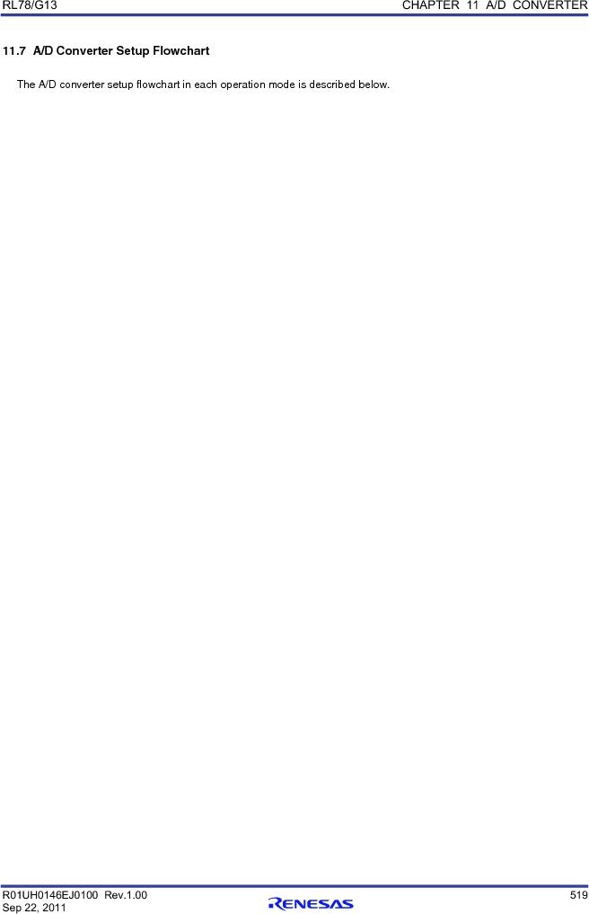 R5F100FCAFP#V0 ,Renesas Electronics America厂商,MCU 16BIT 32KB FLASH 44LQFP, R5F100FCAFP#V0 datasheet预览  第538页