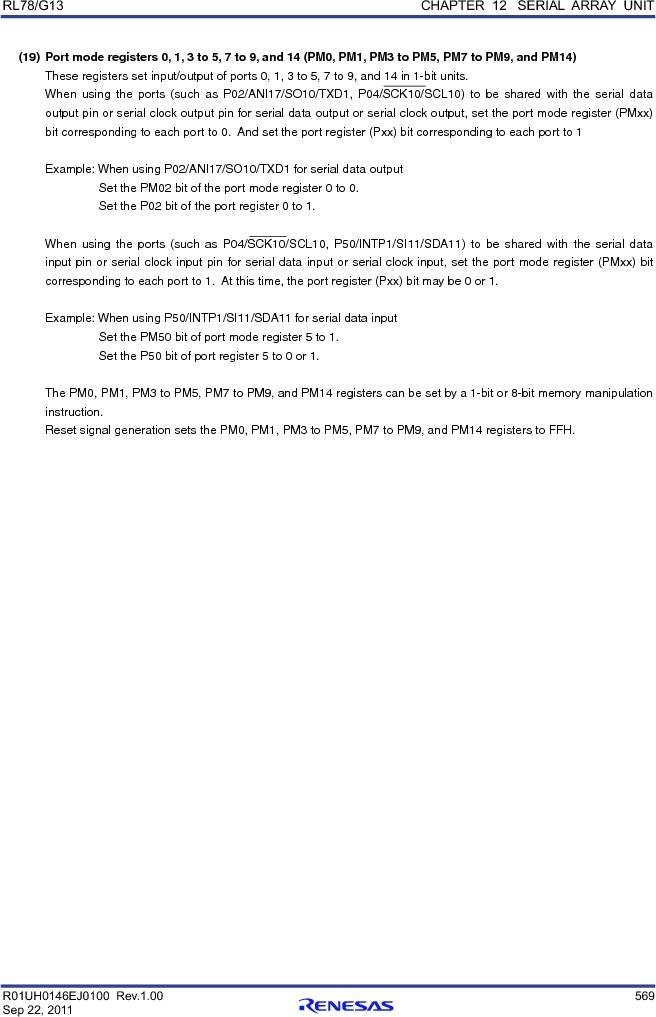 R5F100FCAFP#V0 ,Renesas Electronics America厂商,MCU 16BIT 32KB FLASH 44LQFP, R5F100FCAFP#V0 datasheet预览  第588页