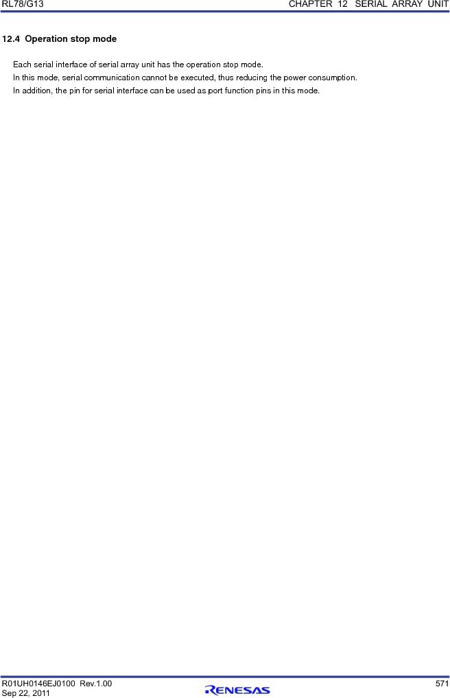 R5F100FCAFP#V0 ,Renesas Electronics America厂商,MCU 16BIT 32KB FLASH 44LQFP, R5F100FCAFP#V0 datasheet预览  第590页