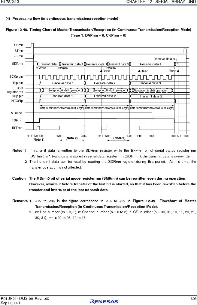 R5F100FCAFP#V0 ,Renesas Electronics America厂商,MCU 16BIT 32KB FLASH 44LQFP, R5F100FCAFP#V0 datasheet预览  第622页
