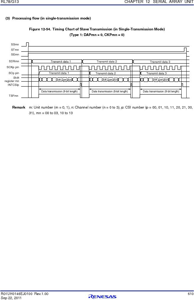 R5F100FCAFP#V0 ,Renesas Electronics America厂商,MCU 16BIT 32KB FLASH 44LQFP, R5F100FCAFP#V0 datasheet预览  第629页