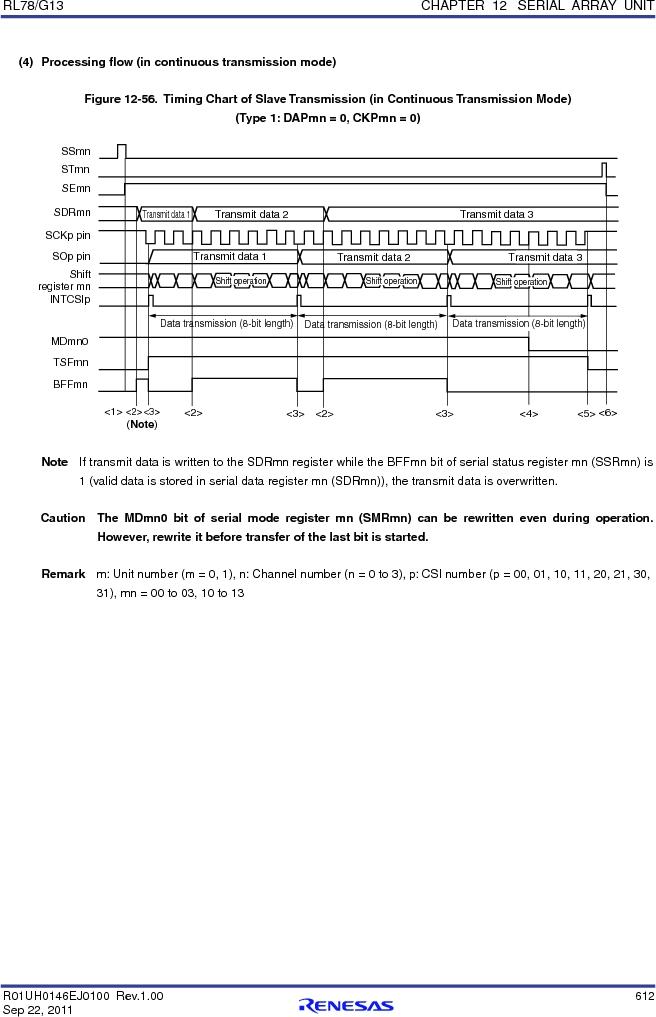 R5F100FCAFP#V0 ,Renesas Electronics America厂商,MCU 16BIT 32KB FLASH 44LQFP, R5F100FCAFP#V0 datasheet预览  第631页