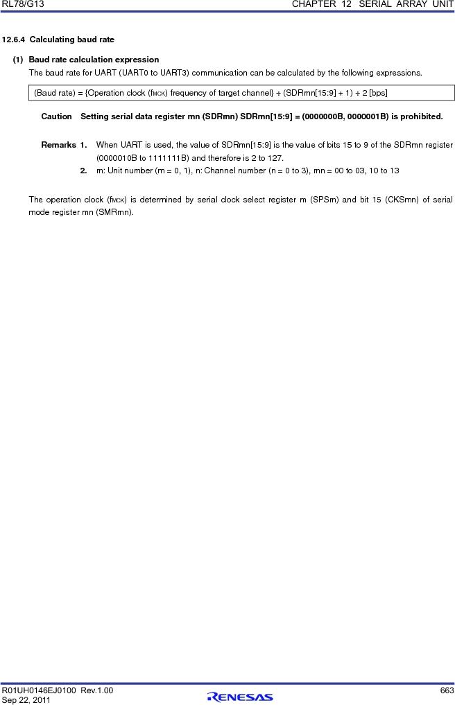 R5F100FCAFP#V0 ,Renesas Electronics America厂商,MCU 16BIT 32KB FLASH 44LQFP, R5F100FCAFP#V0 datasheet预览  第682页