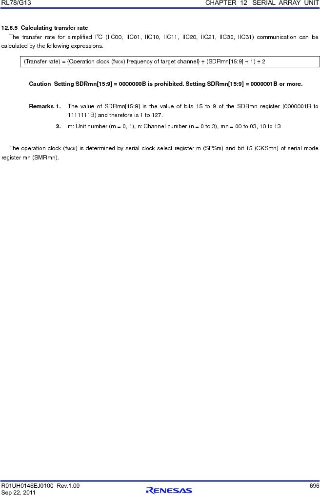 R5F100FCAFP#V0 ,Renesas Electronics America厂商,MCU 16BIT 32KB FLASH 44LQFP, R5F100FCAFP#V0 datasheet预览  第715页