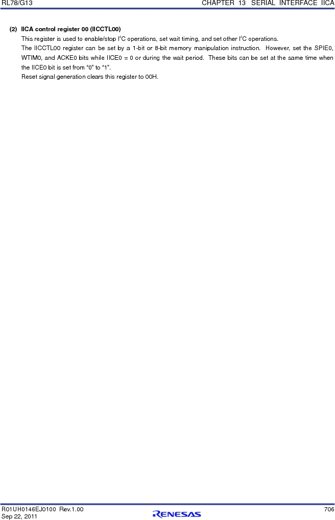 R5F100FCAFP#V0 ,Renesas Electronics America厂商,MCU 16BIT 32KB FLASH 44LQFP, R5F100FCAFP#V0 datasheet预览  第725页