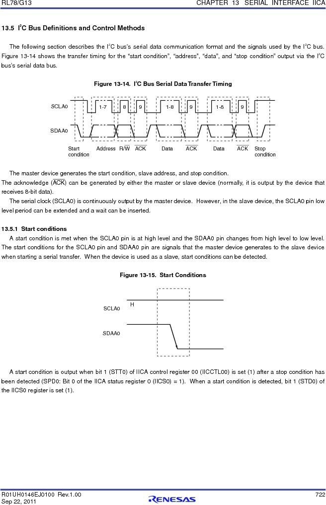 R5F100FGAFP#V0 ,Renesas Electronics America厂商,MCU 16BIT 128KB FLASH 44LQFP, R5F100FGAFP#V0 datasheet预览  第741页