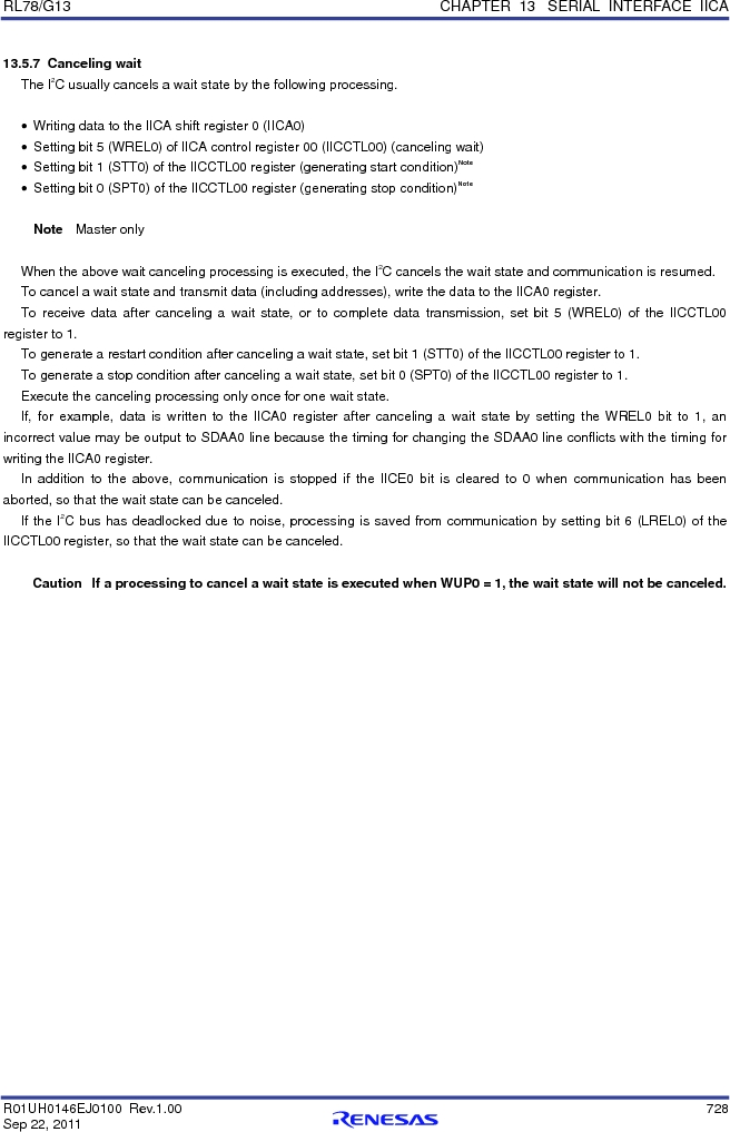R5F100FCAFP#V0 ,Renesas Electronics America厂商,MCU 16BIT 32KB FLASH 44LQFP, R5F100FCAFP#V0 datasheet预览  第747页