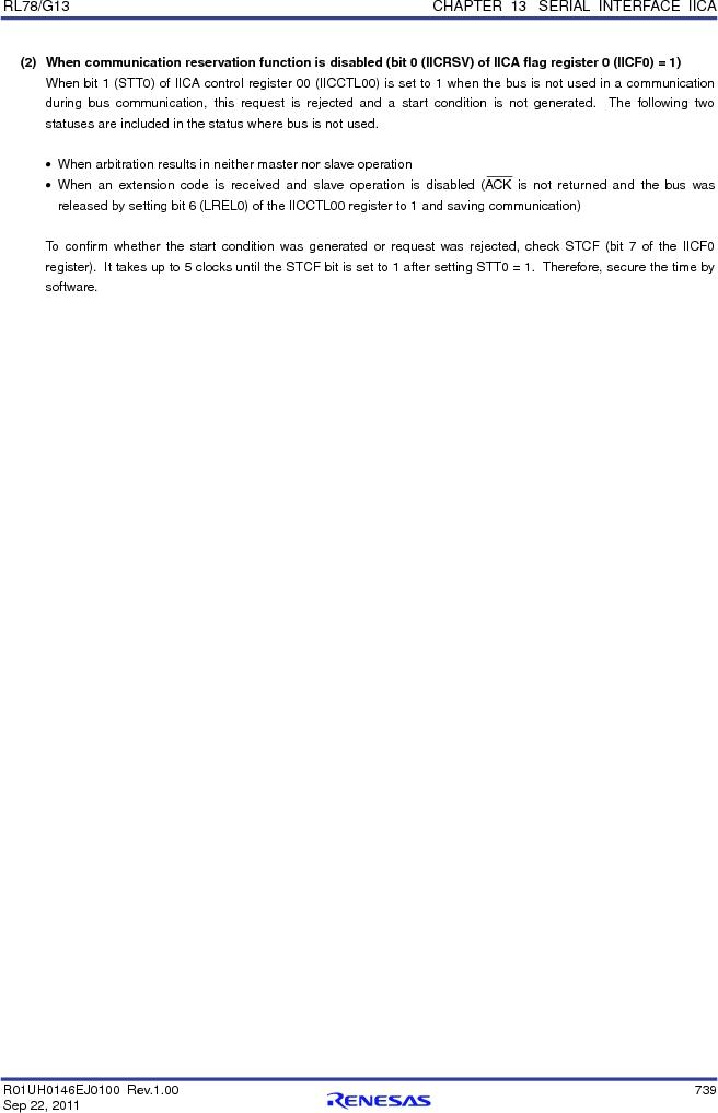 R5F100FCAFP#V0 ,Renesas Electronics America厂商,MCU 16BIT 32KB FLASH 44LQFP, R5F100FCAFP#V0 datasheet预览  第758页
