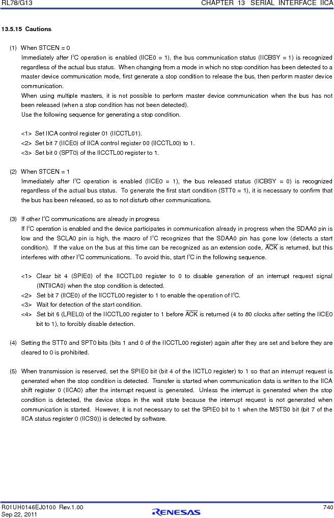 R5F100FCAFP#V0 ,Renesas Electronics America厂商,MCU 16BIT 32KB FLASH 44LQFP, R5F100FCAFP#V0 datasheet预览  第759页