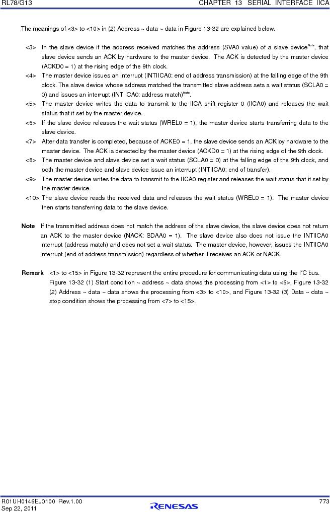 R5F100FCAFP#V0 ,Renesas Electronics America厂商,MCU 16BIT 32KB FLASH 44LQFP, R5F100FCAFP#V0 datasheet预览  第792页