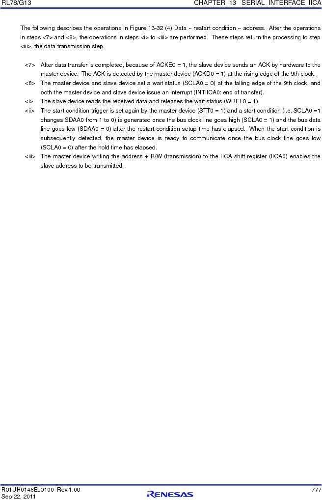 R5F100FCAFP#V0 ,Renesas Electronics America厂商,MCU 16BIT 32KB FLASH 44LQFP, R5F100FCAFP#V0 datasheet预览  第796页