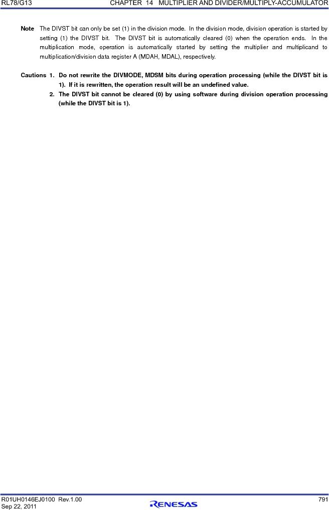 R5F100FCAFP#V0 ,Renesas Electronics America厂商,MCU 16BIT 32KB FLASH 44LQFP, R5F100FCAFP#V0 datasheet预览  第810页