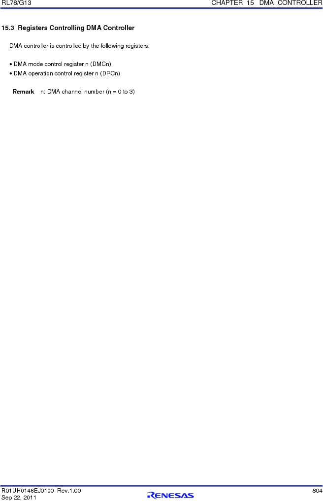 R5F100FCAFP#V0 ,Renesas Electronics America厂商,MCU 16BIT 32KB FLASH 44LQFP, R5F100FCAFP#V0 datasheet预览  第823页