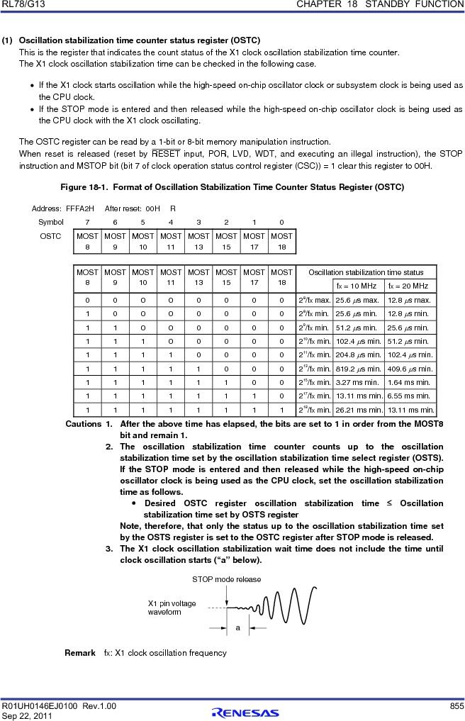 R5F100FCAFP#V0 ,Renesas Electronics America厂商,MCU 16BIT 32KB FLASH 44LQFP, R5F100FCAFP#V0 datasheet预览  第874页