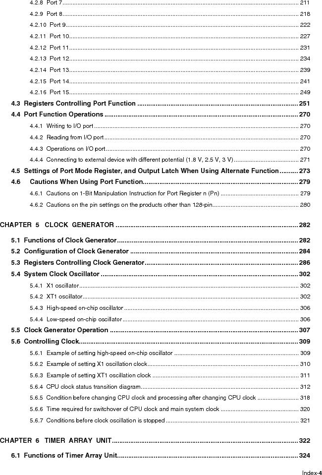 R5F100FCAFP#V0 ,Renesas Electronics America厂商,MCU 16BIT 32KB FLASH 44LQFP, R5F100FCAFP#V0 datasheet预览  第10页