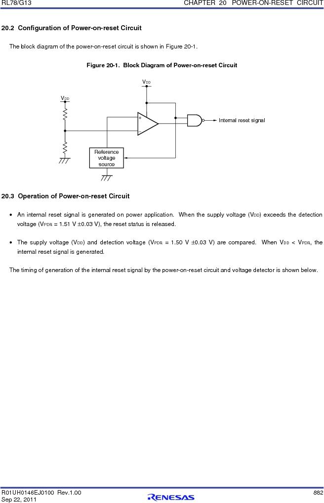 R5F100FCAFP#V0 ,Renesas Electronics America厂商,MCU 16BIT 32KB FLASH 44LQFP, R5F100FCAFP#V0 datasheet预览  第901页