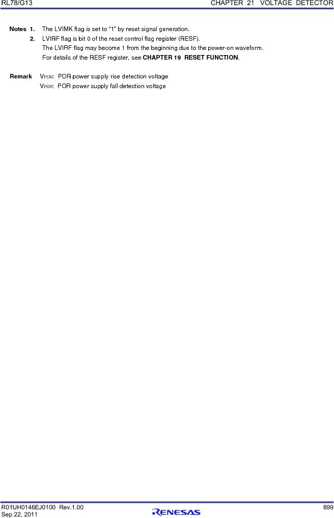 R5F100FCAFP#V0 ,Renesas Electronics America厂商,MCU 16BIT 32KB FLASH 44LQFP, R5F100FCAFP#V0 datasheet预览  第918页