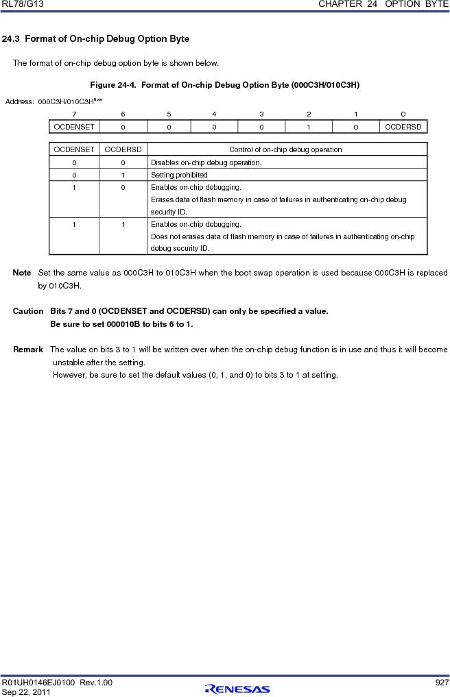 R5F100FCAFP#V0 ,Renesas Electronics America厂商,MCU 16BIT 32KB FLASH 44LQFP, R5F100FCAFP#V0 datasheet预览  第946页