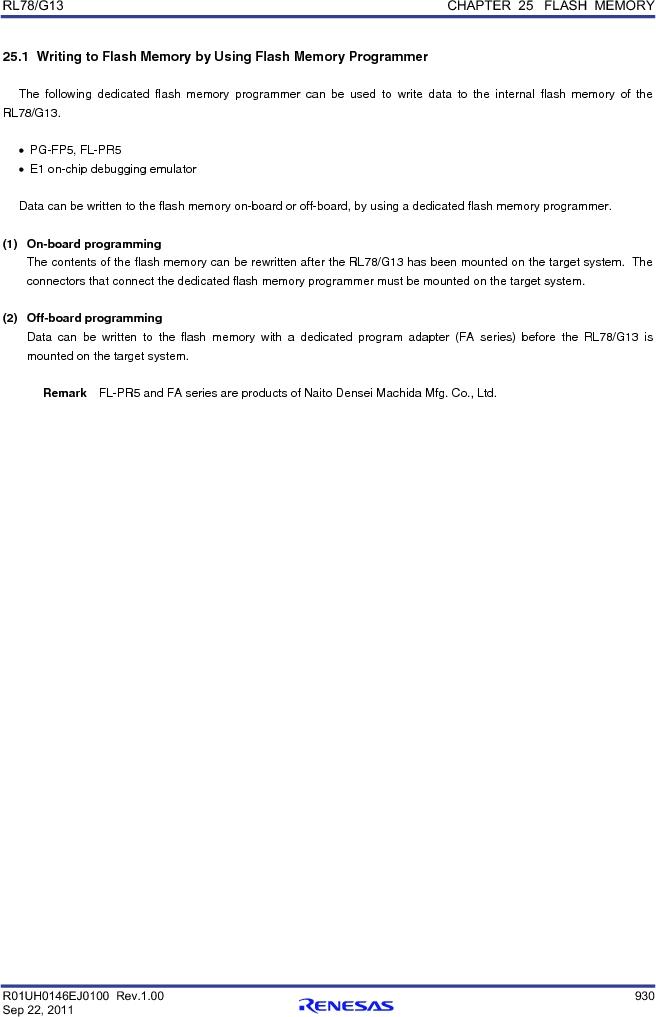 R5F100FCAFP#V0 ,Renesas Electronics America厂商,MCU 16BIT 32KB FLASH 44LQFP, R5F100FCAFP#V0 datasheet预览  第949页
