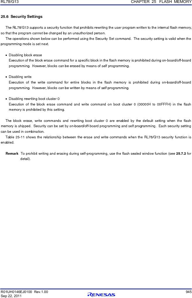 R5F100FCAFP#V0 ,Renesas Electronics America厂商,MCU 16BIT 32KB FLASH 44LQFP, R5F100FCAFP#V0 datasheet预览  第964页