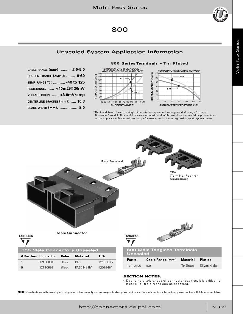 12014254 ,Delphi Connection Systems厂商,Automotive Connectors HAND CRIMPER, 12014254 datasheet预览  第119页
