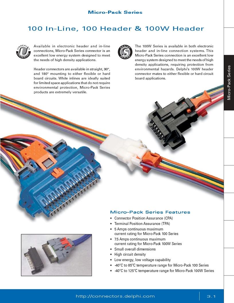 12014254 ,Delphi Connection Systems厂商,Automotive Connectors HAND CRIMPER, 12014254 datasheet预览  第163页