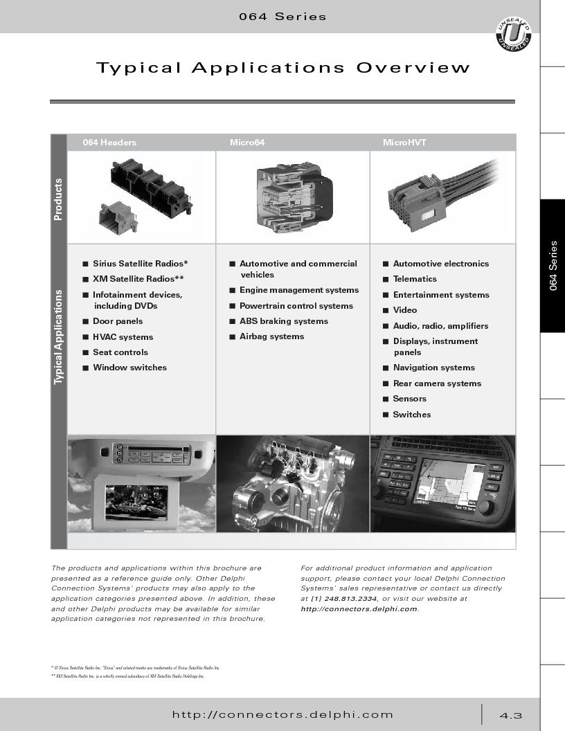 12014254 ,Delphi Connection Systems厂商,Automotive Connectors HAND CRIMPER, 12014254 datasheet预览  第193页
