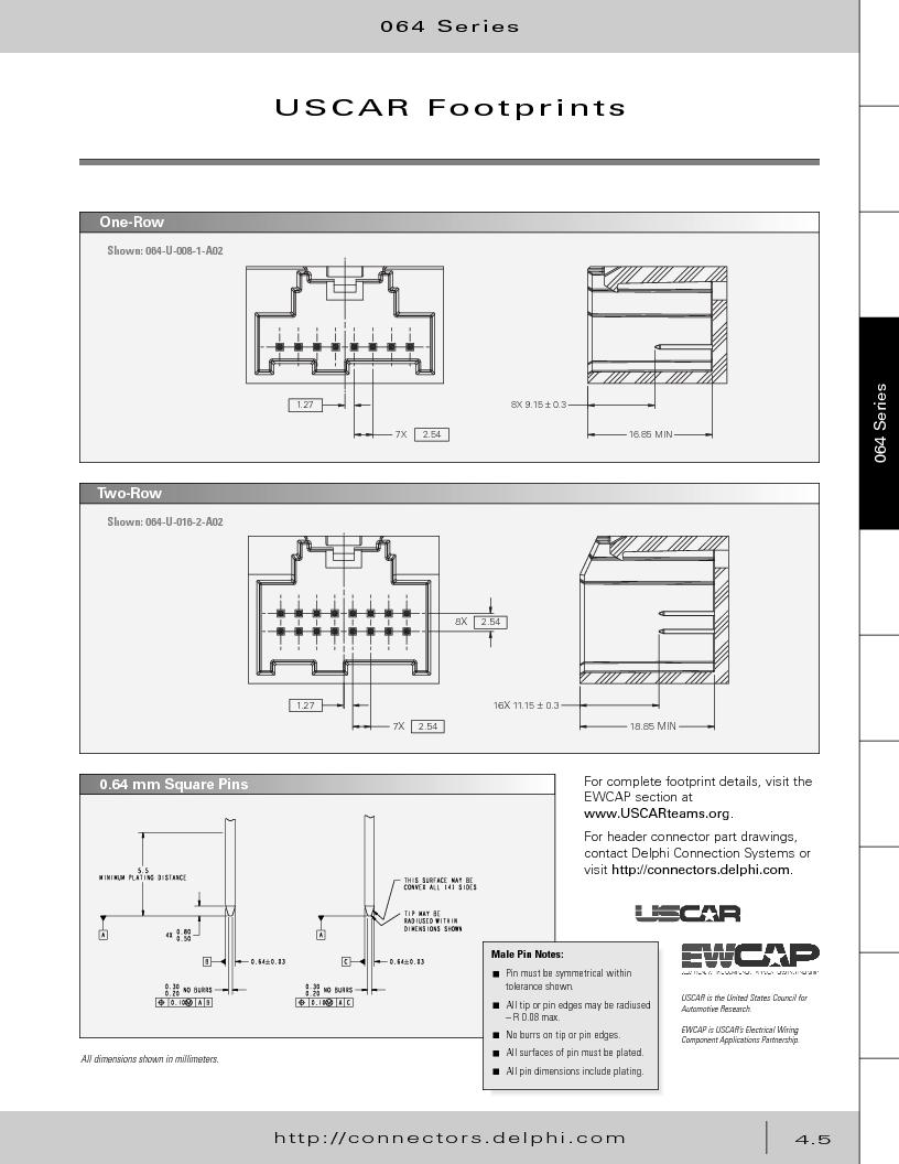 12014254 ,Delphi Connection Systems厂商,Automotive Connectors HAND CRIMPER, 12014254 datasheet预览  第195页