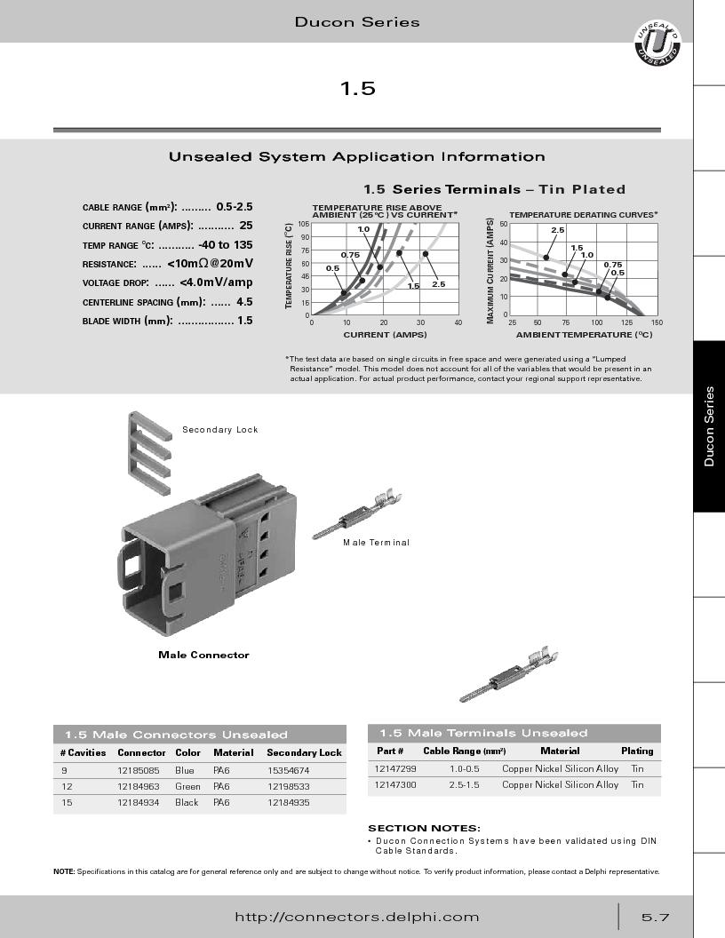 12014254 ,Delphi Connection Systems厂商,Automotive Connectors HAND CRIMPER, 12014254 datasheet预览  第261页